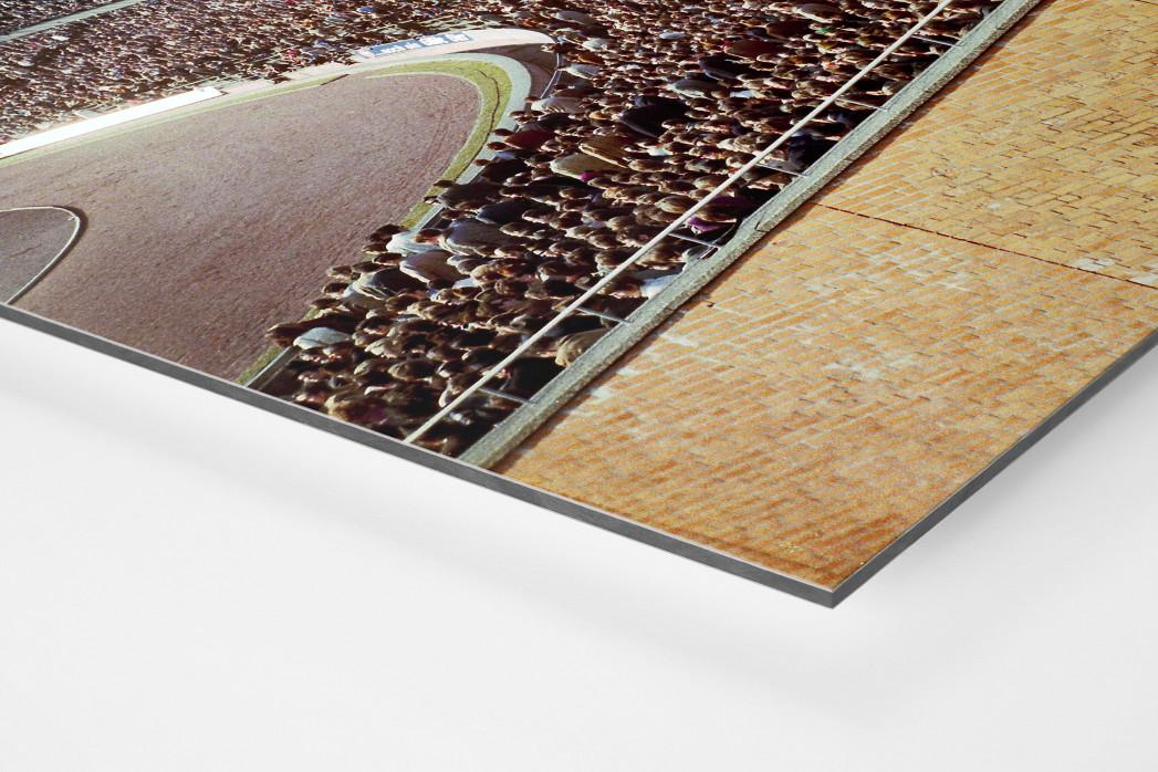 Tribüne Niedersachsenstadion als auf Alu-Dibond kaschierter Fotoabzug (Detail)