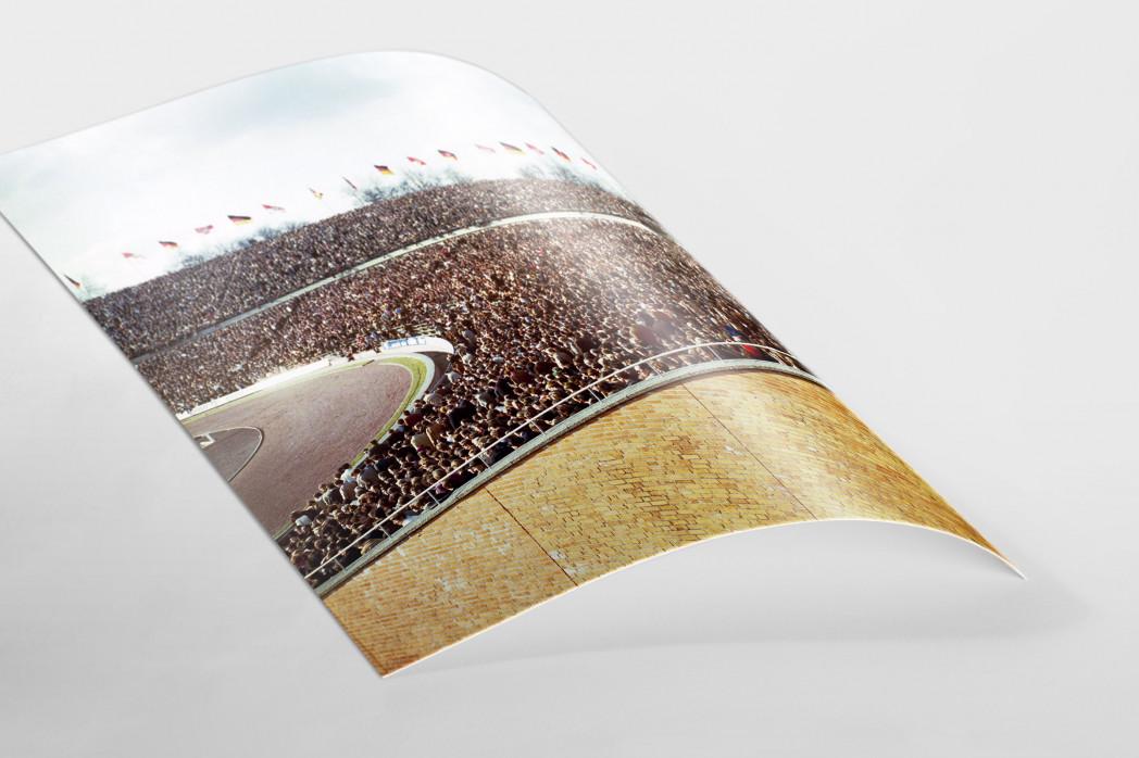 Tribüne Niedersachsenstadion als FineArt-Print