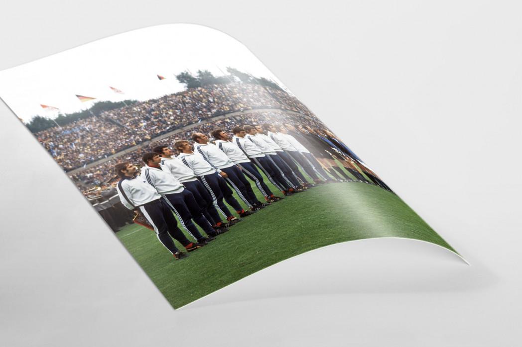 K'lautern im Pokalfinale 1972 als FineArt-Print