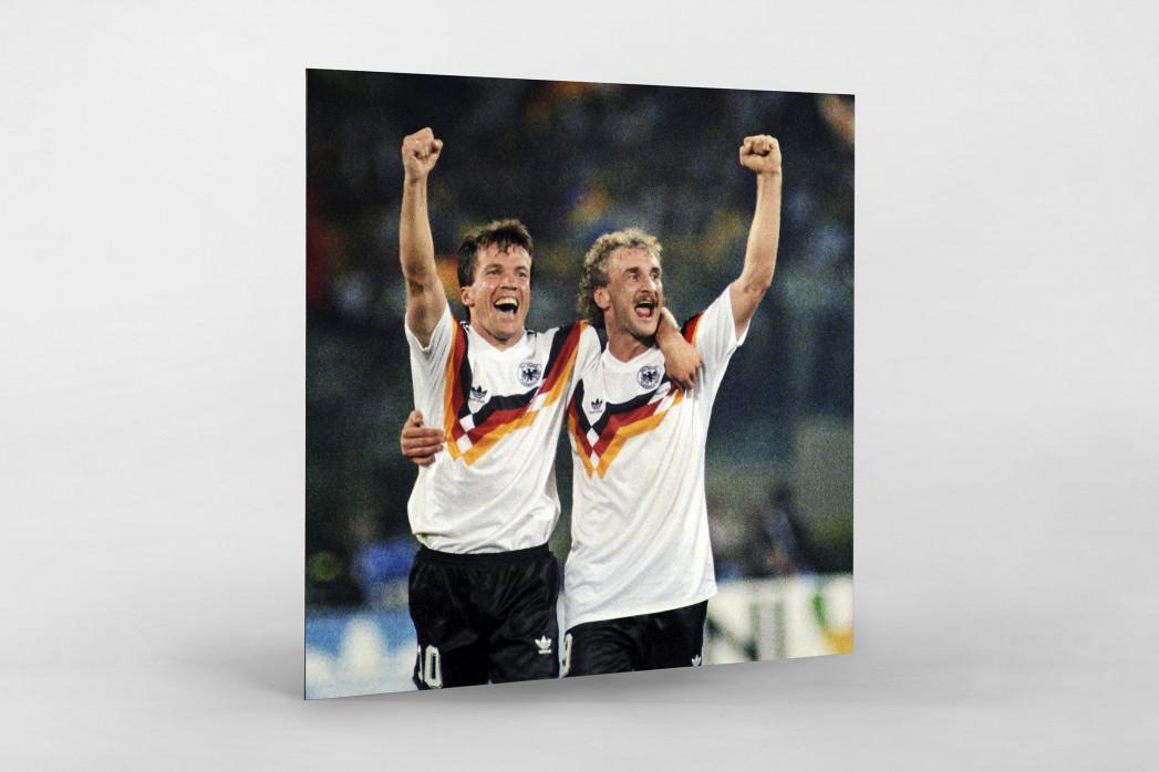 Lothar und Rudi als auf Alu-Dibond kaschierter Fotoabzug