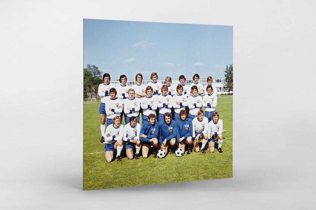 DDR 1974 als auf Alu-Dibond kaschierter Fotoabzug
