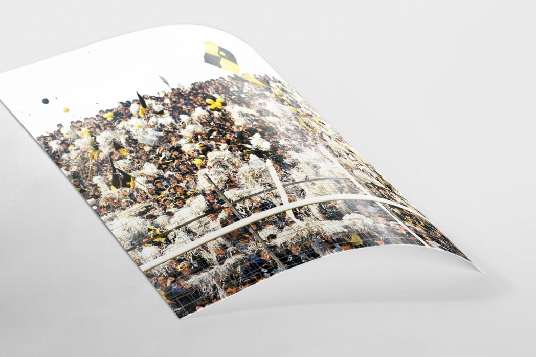 Aachen Fans 1984 als FineArt-Print
