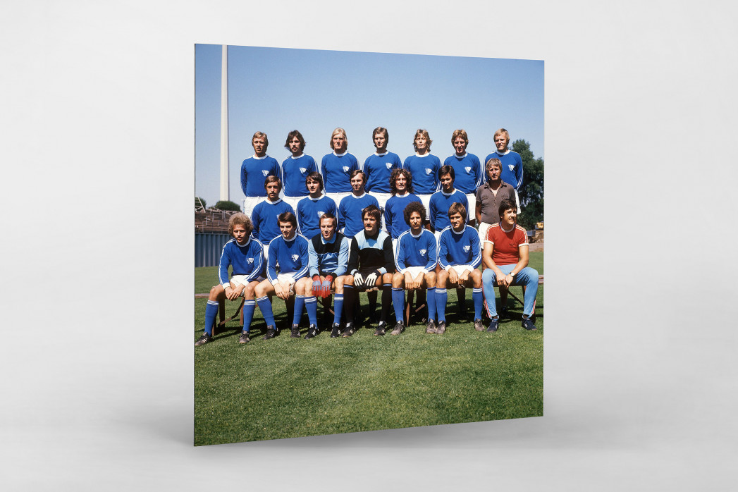Bochum 1976/77 als auf Alu-Dibond kaschierter Fotoabzug