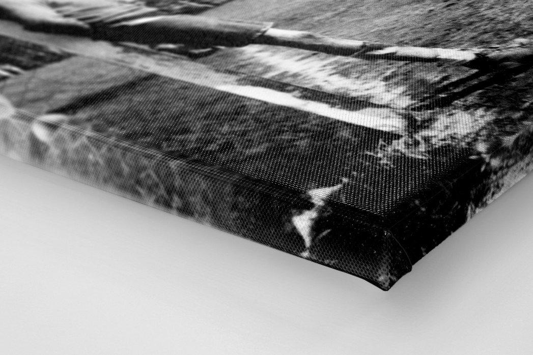 Ruhezone als Leinwand auf Keilrahmen gezogen (Detail)
