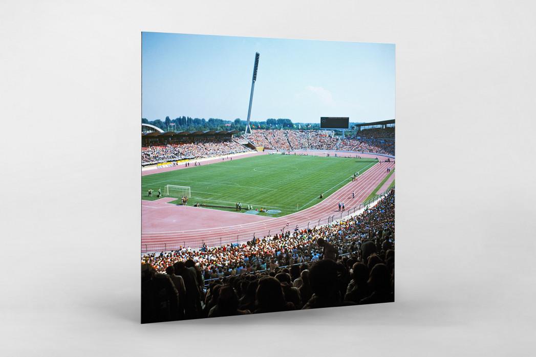 Niedersachsenstadion 1974 als auf Alu-Dibond kaschierter Fotoabzug
