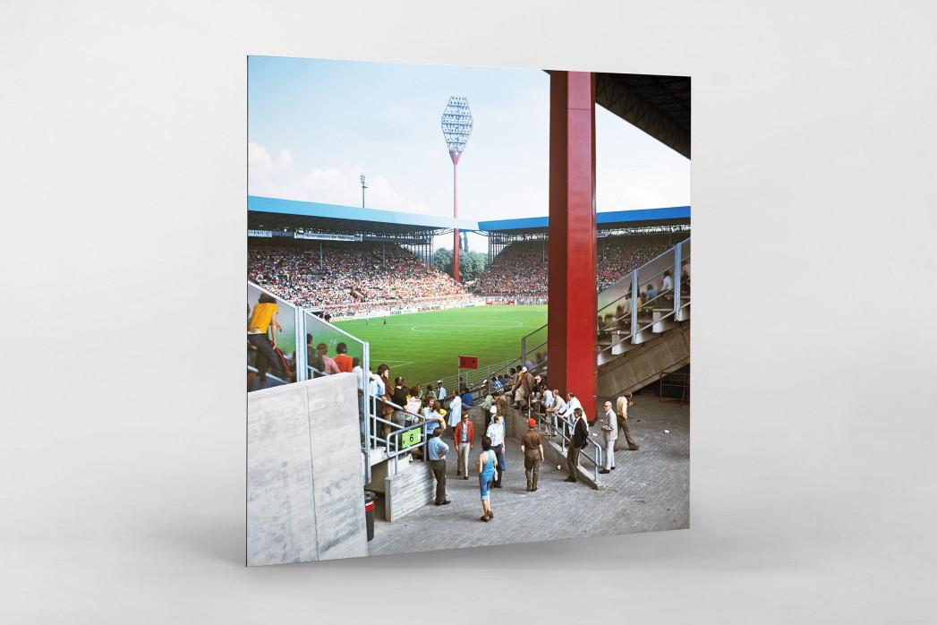 Westfalenstadion 1974 als auf Alu-Dibond kaschierter Fotoabzug
