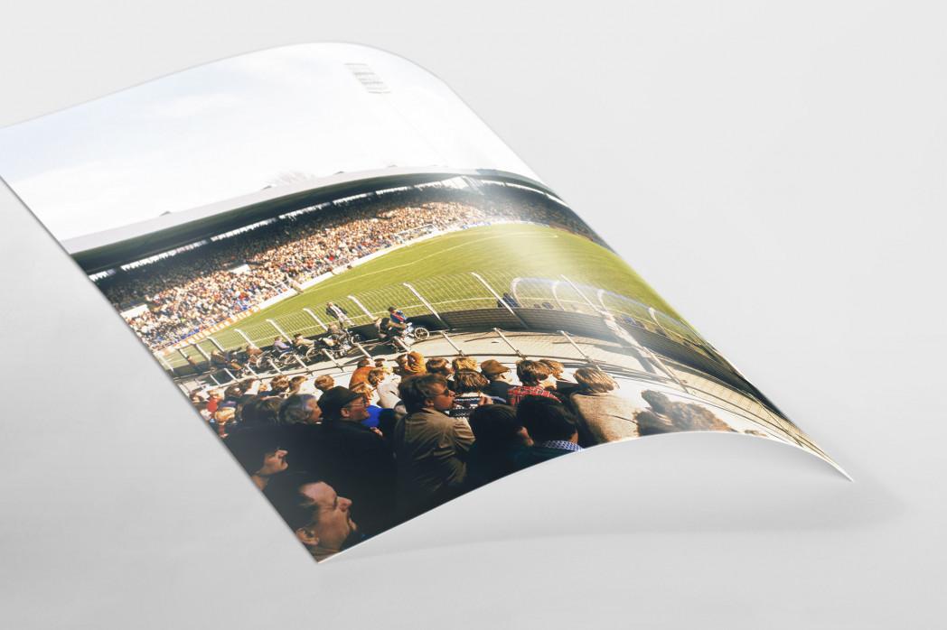 Ruhrstadion 1981 als FineArt-Print