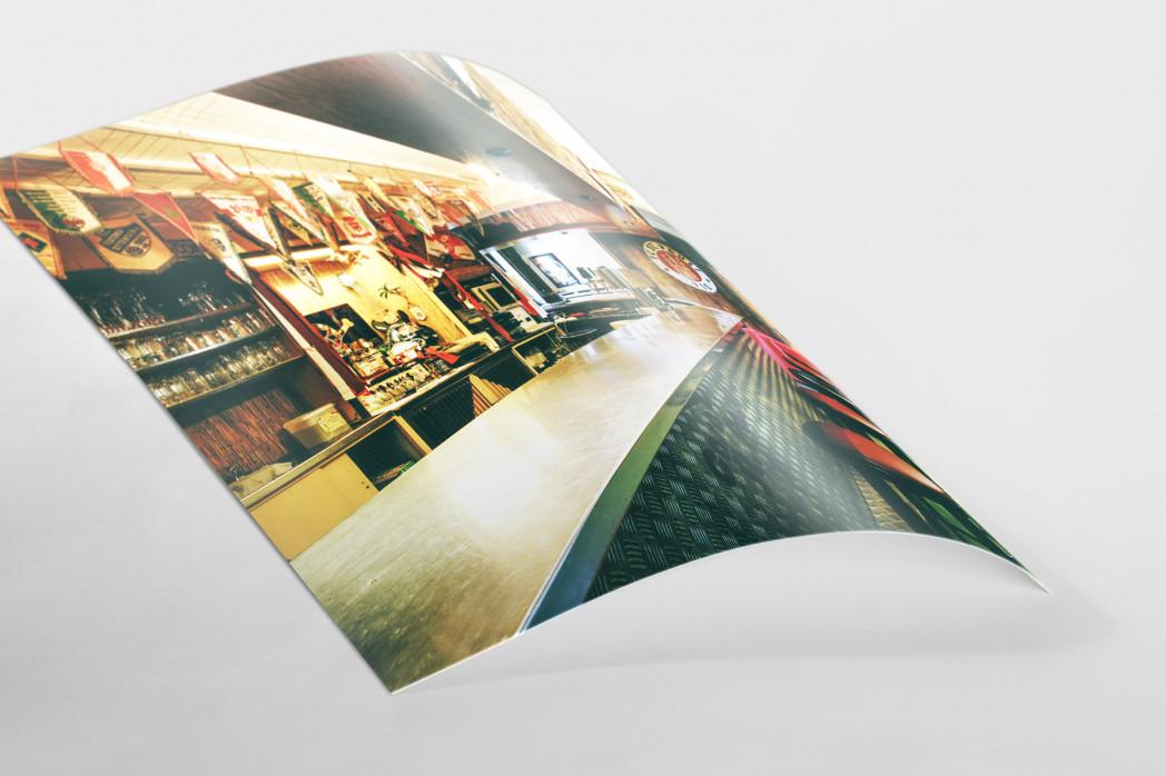 Bar im Klubheim St. Pauli als FineArt-Print