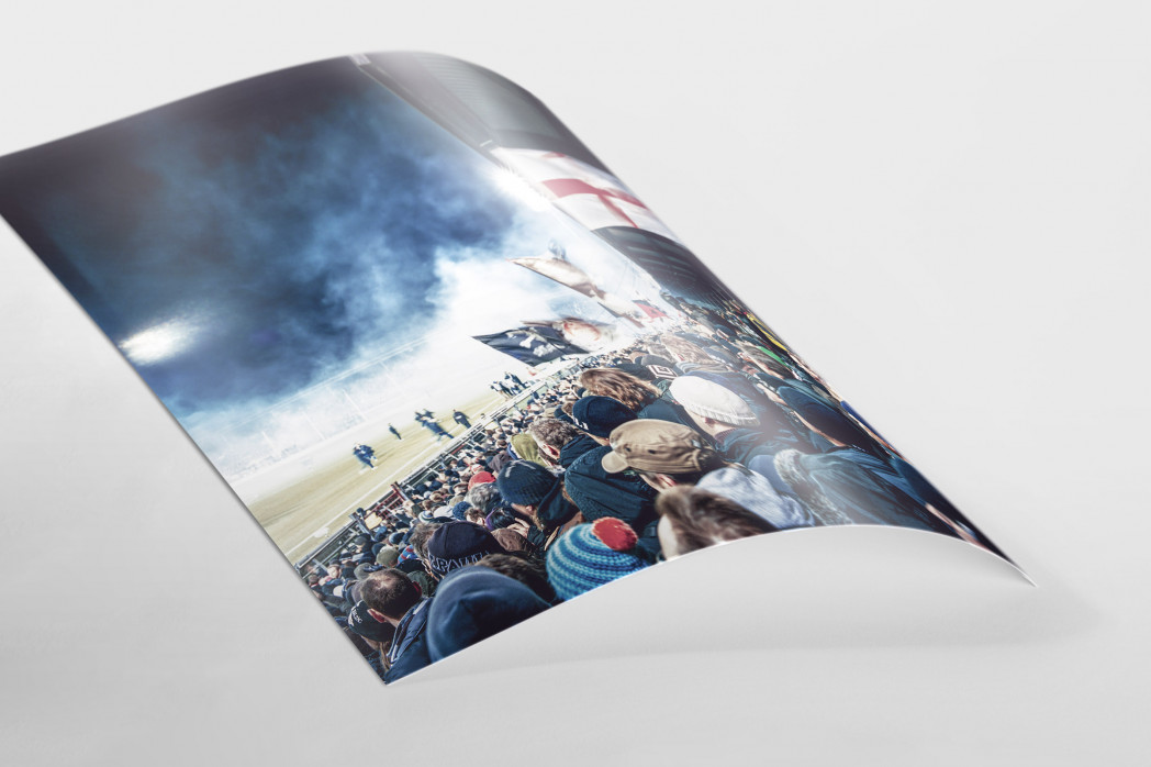 Köpfe der Gegengerade als FineArt-Print