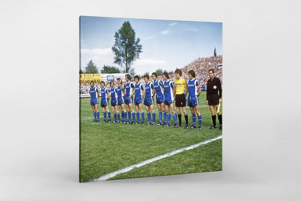 Bielefeld 1977 als Leinwand auf Keilrahmen gezogen