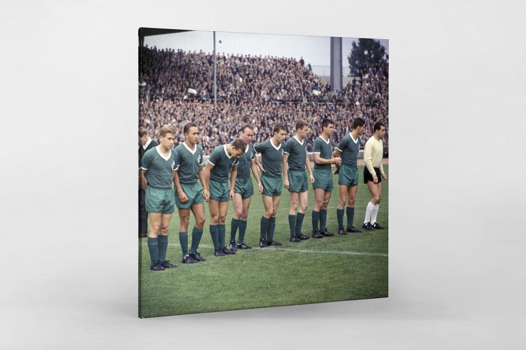 Bremen 1964 als Leinwand auf Keilrahmen gezogen