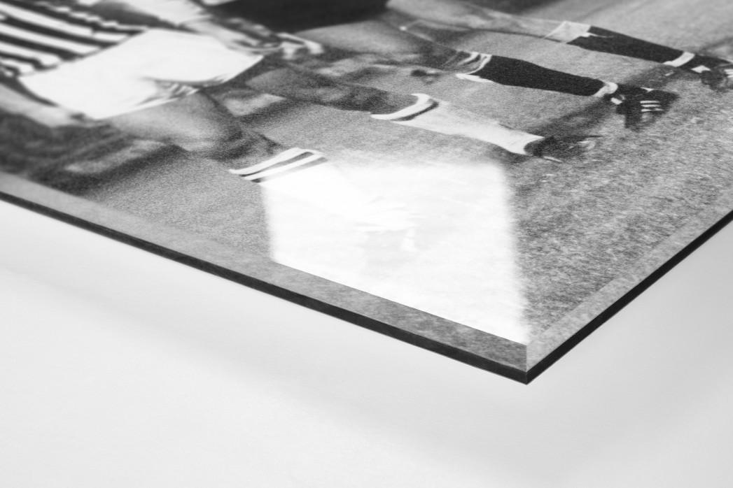 Dresden vs. Juve als Direktdruck auf Alu-Dibond hinter Acrylglas (Detail)
