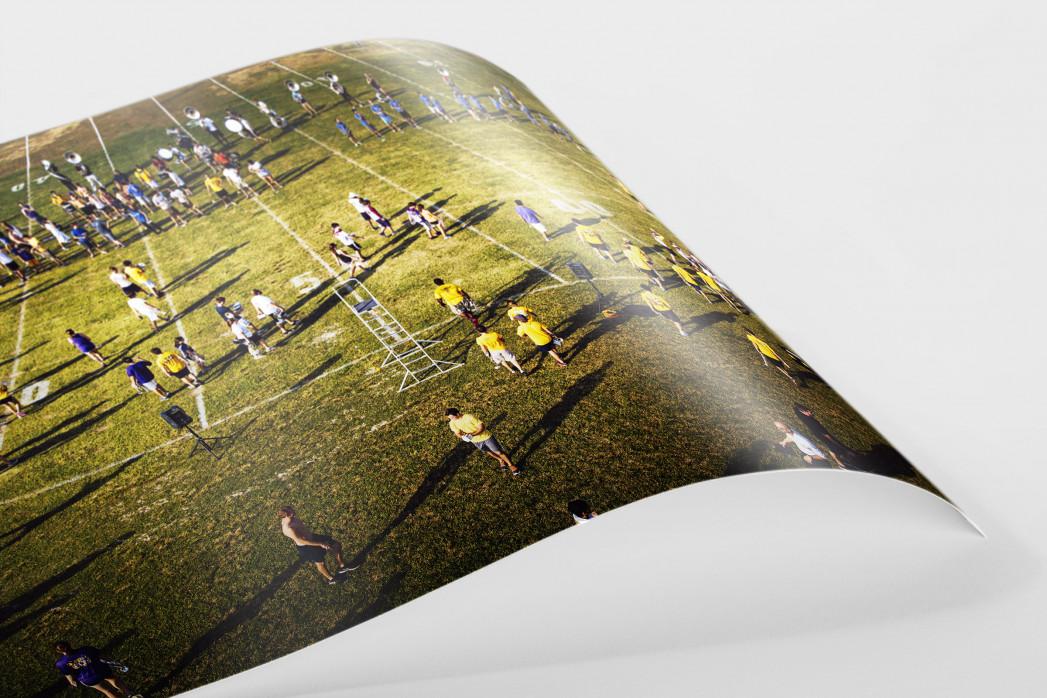 Auf dem Rasen im Tiger Stadium als FineArt-Print