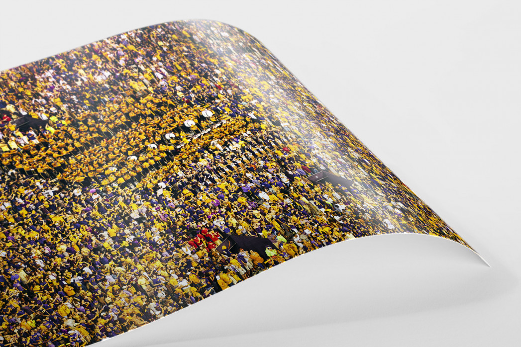 LSU Tiger Marching Band als FineArt-Print