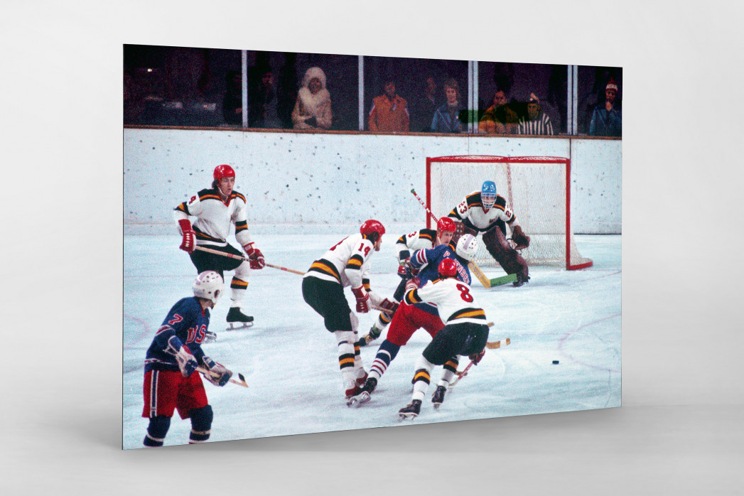 BRD vs. USA 1976 als auf Alu-Dibond kaschierter Fotoabzug