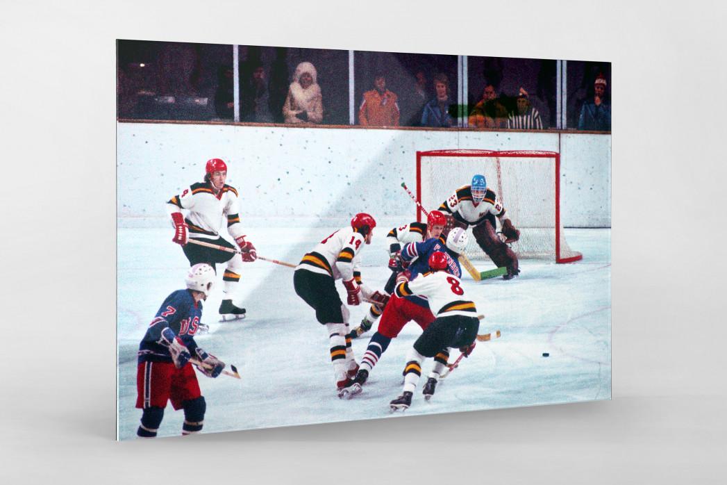 BRD vs. USA 1976 als Direktdruck auf Alu-Dibond hinter Acrylglas