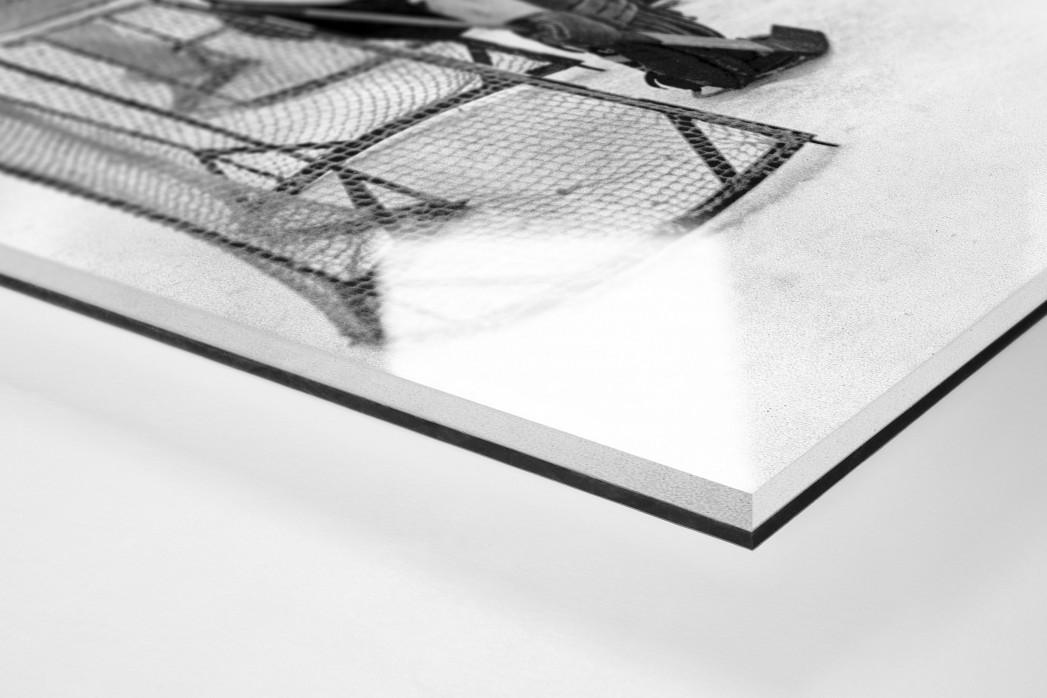 Eishockeytraining in der Wembley Arena als Direktdruck auf Alu-Dibond hinter Acrylglas (Detail)