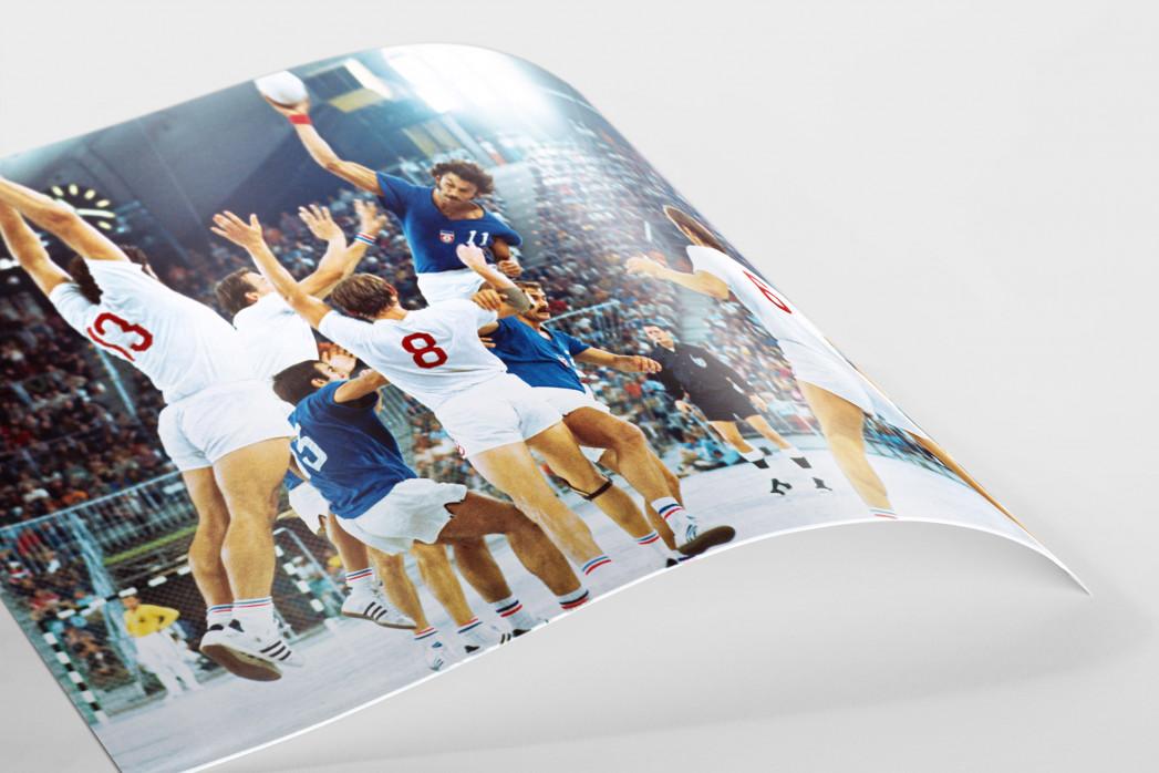 Handball Finale 1972  als FineArt-Print
