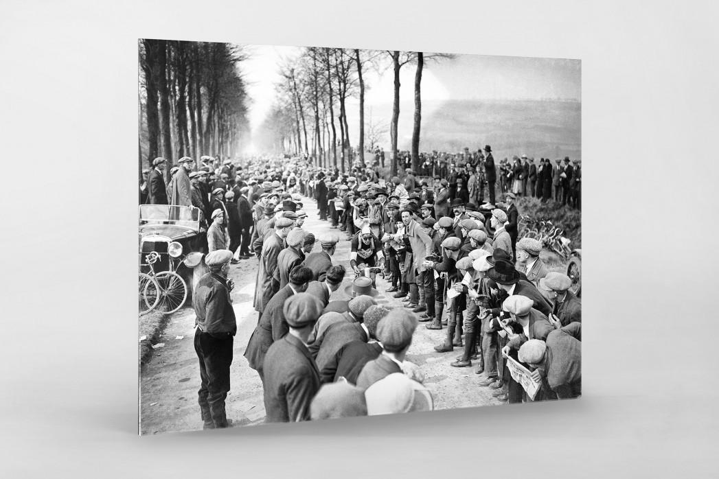 Schaulustige bei Paris-Roubaix als Direktdruck auf Alu-Dibond hinter Acrylglas