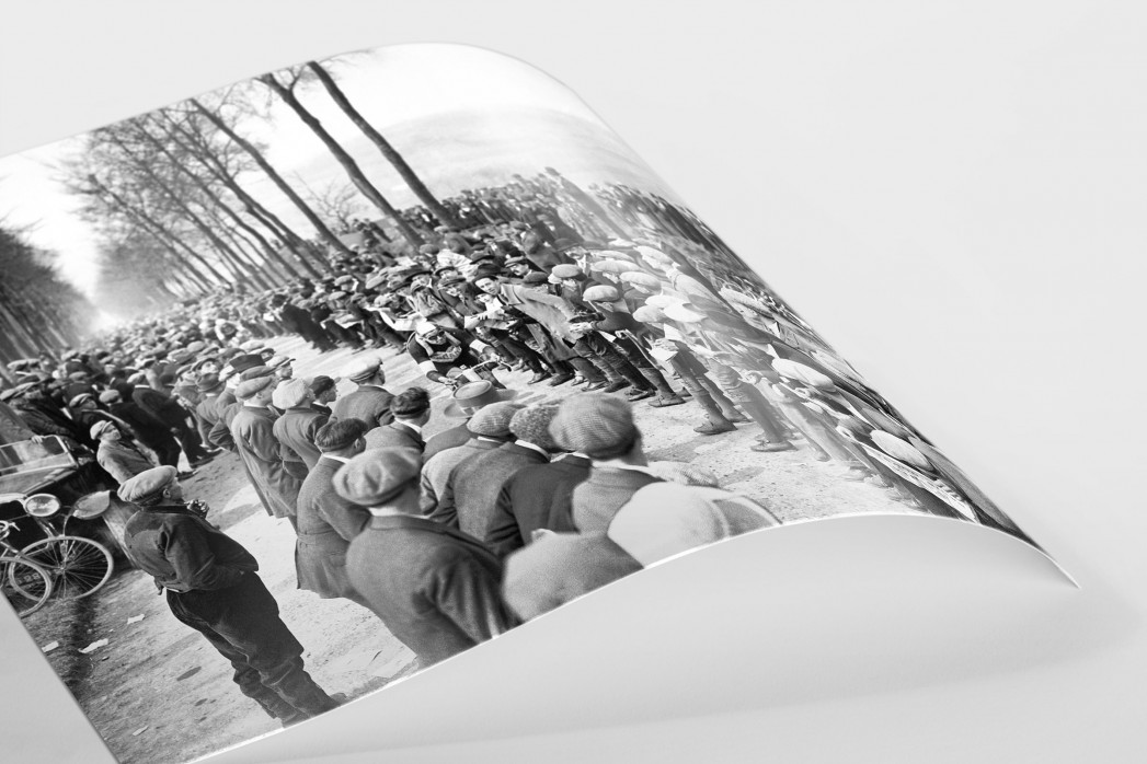 Schaulustige bei Paris-Roubaix als FineArt-Print