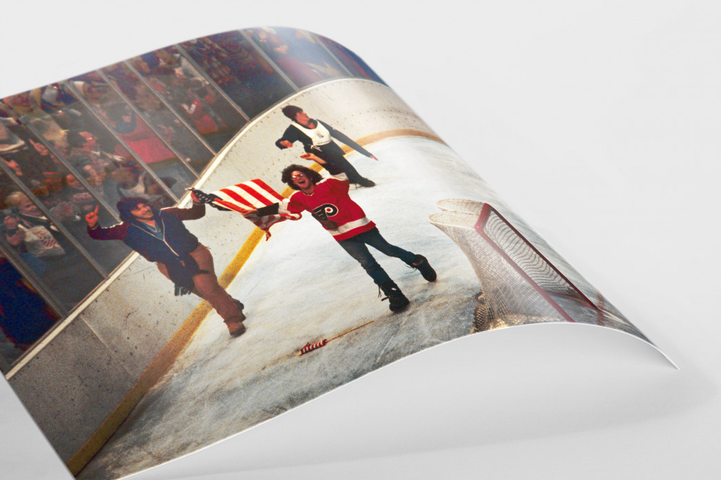 "Jubel nach dem ""Miracle On Ice"" als FineArt-Print"