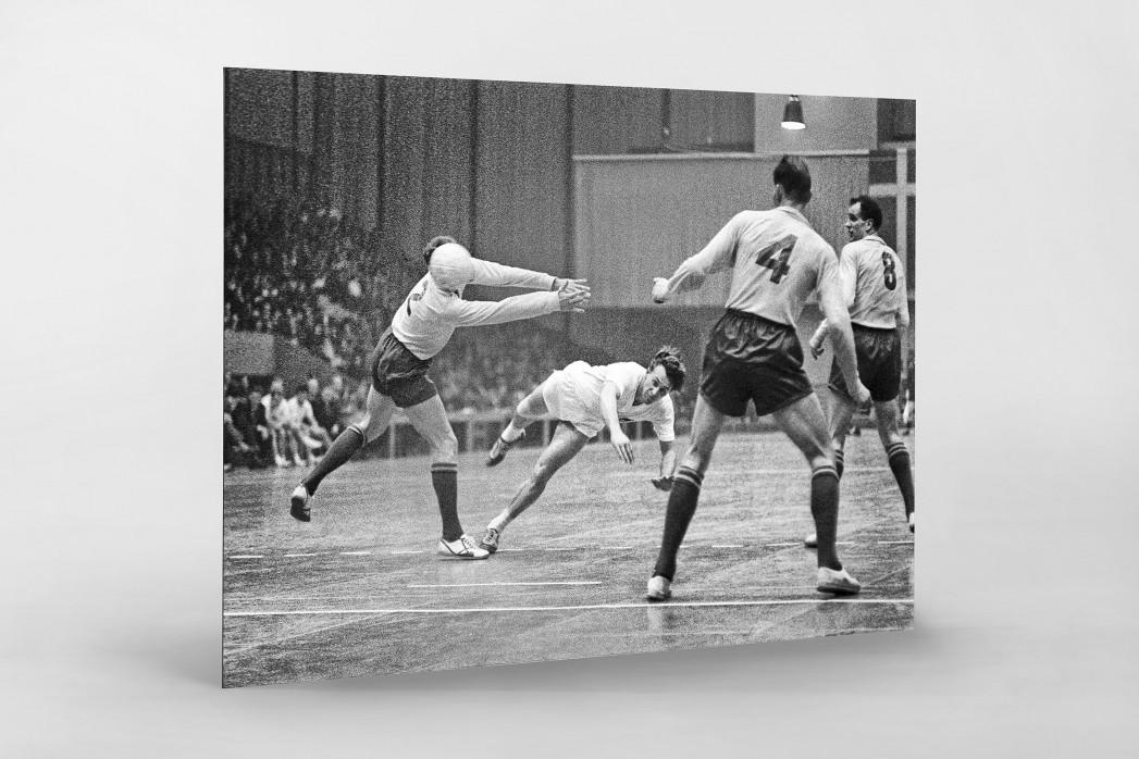 Handball 1961 als auf Alu-Dibond kaschierter Fotoabzug