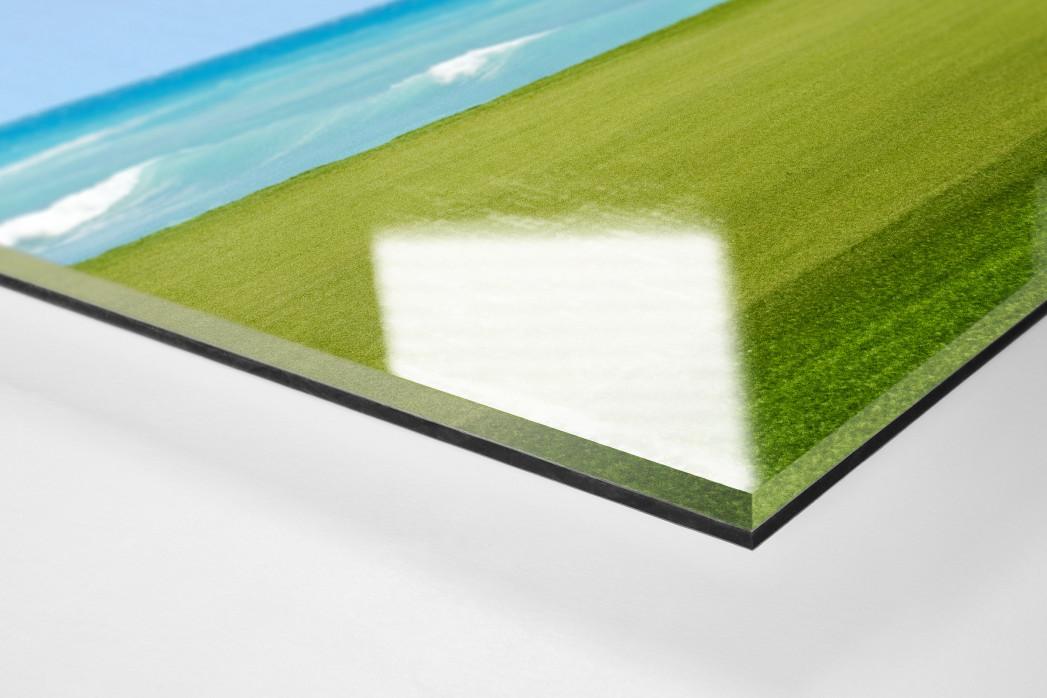 Loch am Meer als Direktdruck auf Alu-Dibond hinter Acrylglas (Detail)