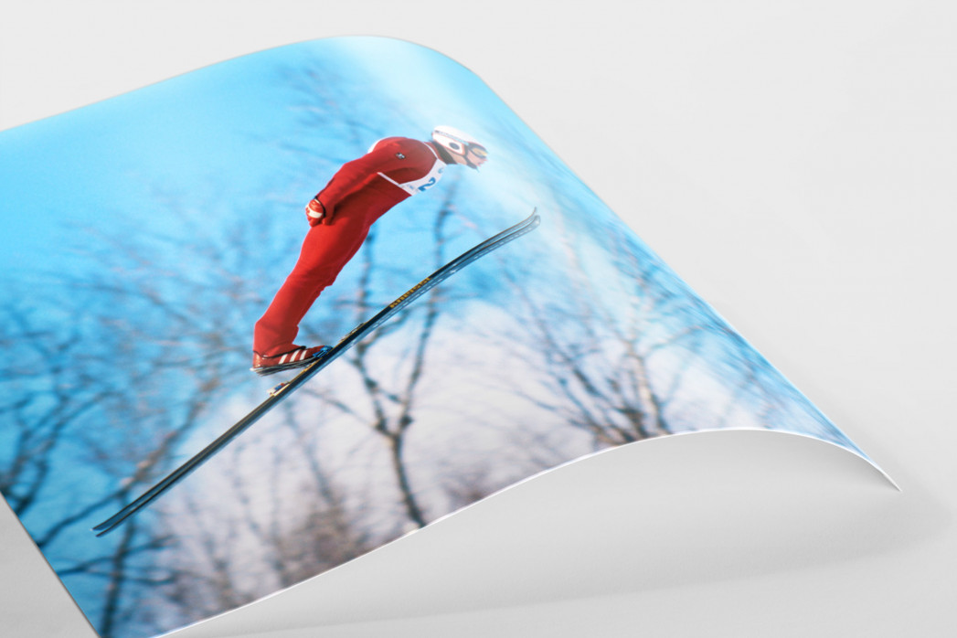 Skisprung am Lake Placid als FineArt-Print