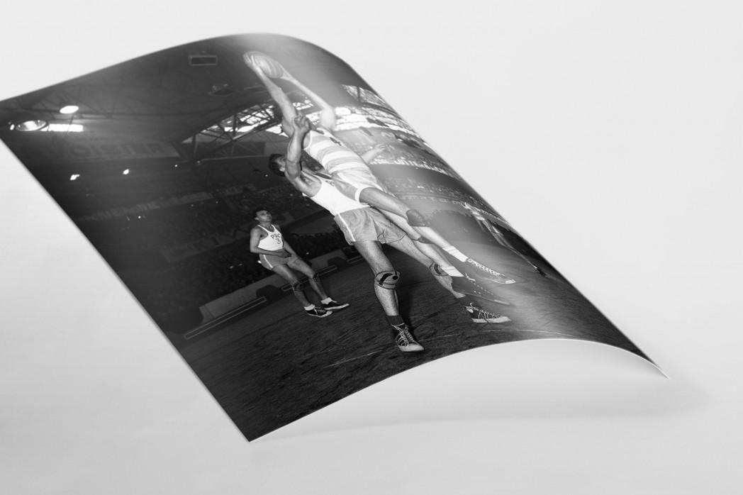 Basketball in Paris als FineArt-Print
