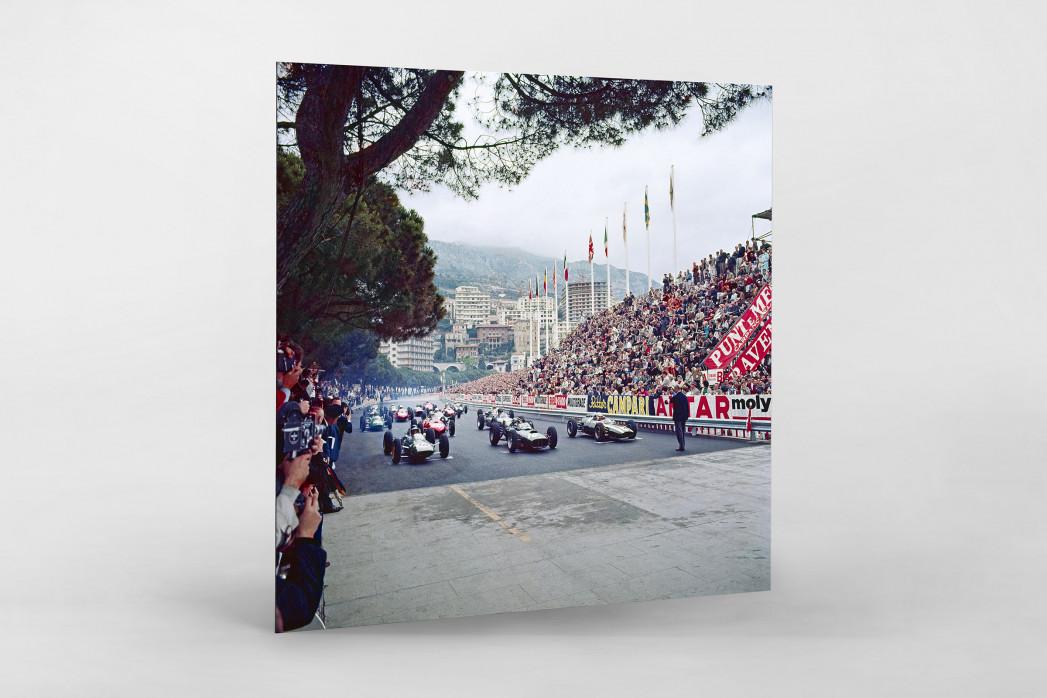 Monaco 1962 als auf Alu-Dibond kaschierter Fotoabzug