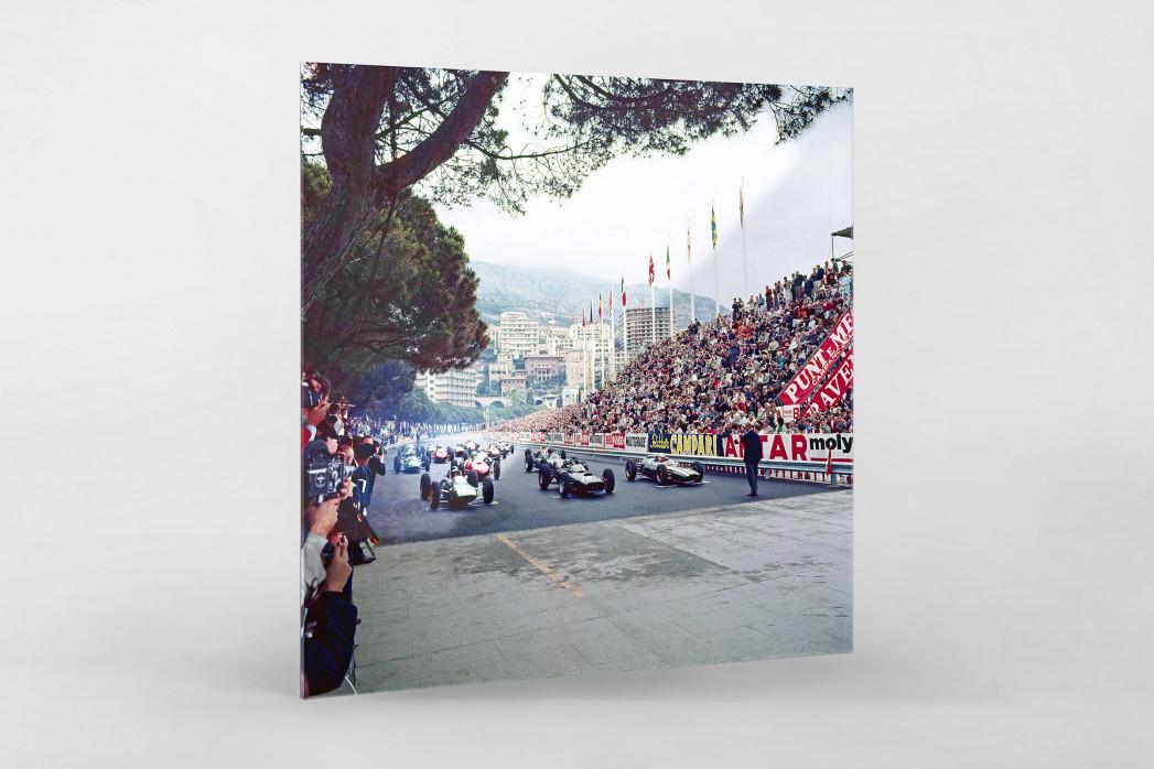 Monaco 1962 als Direktdruck auf Alu-Dibond hinter Acrylglas