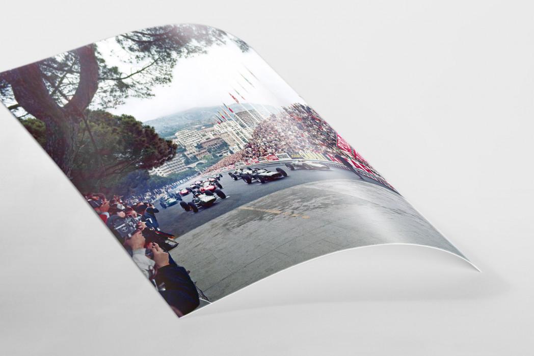 Monaco 1962 als FineArt-Print