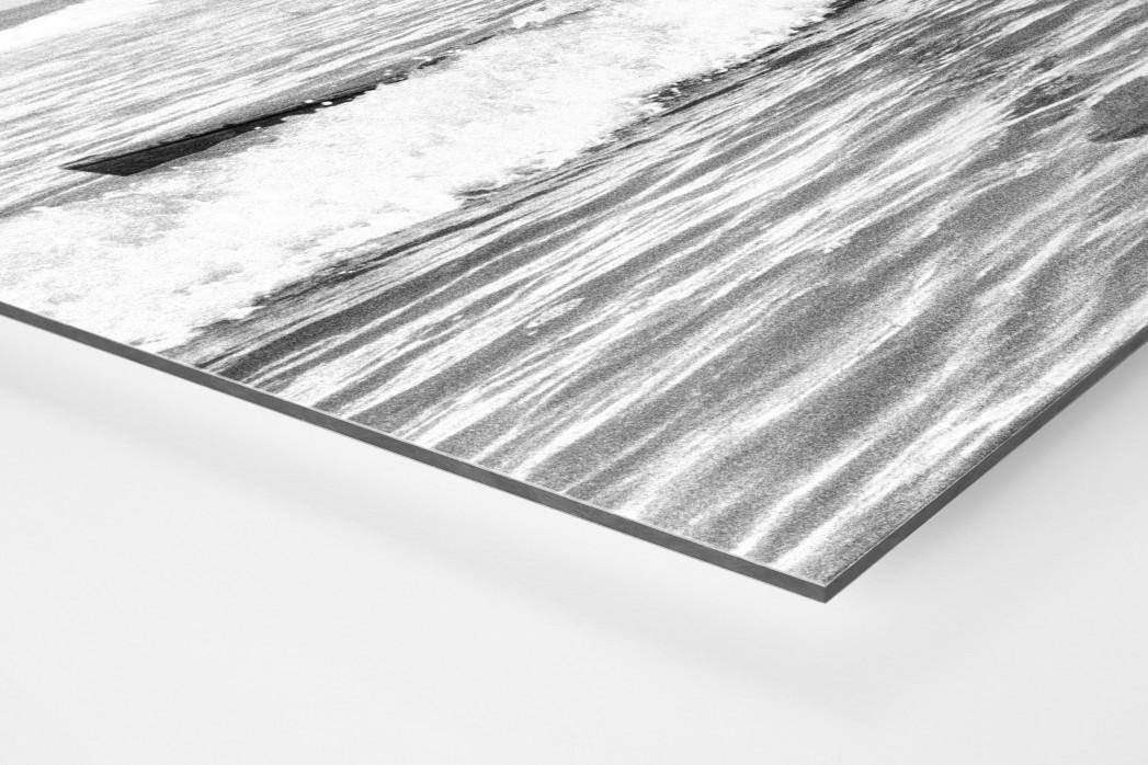 Surfen 1960 als auf Alu-Dibond kaschierter Fotoabzug (Detail)