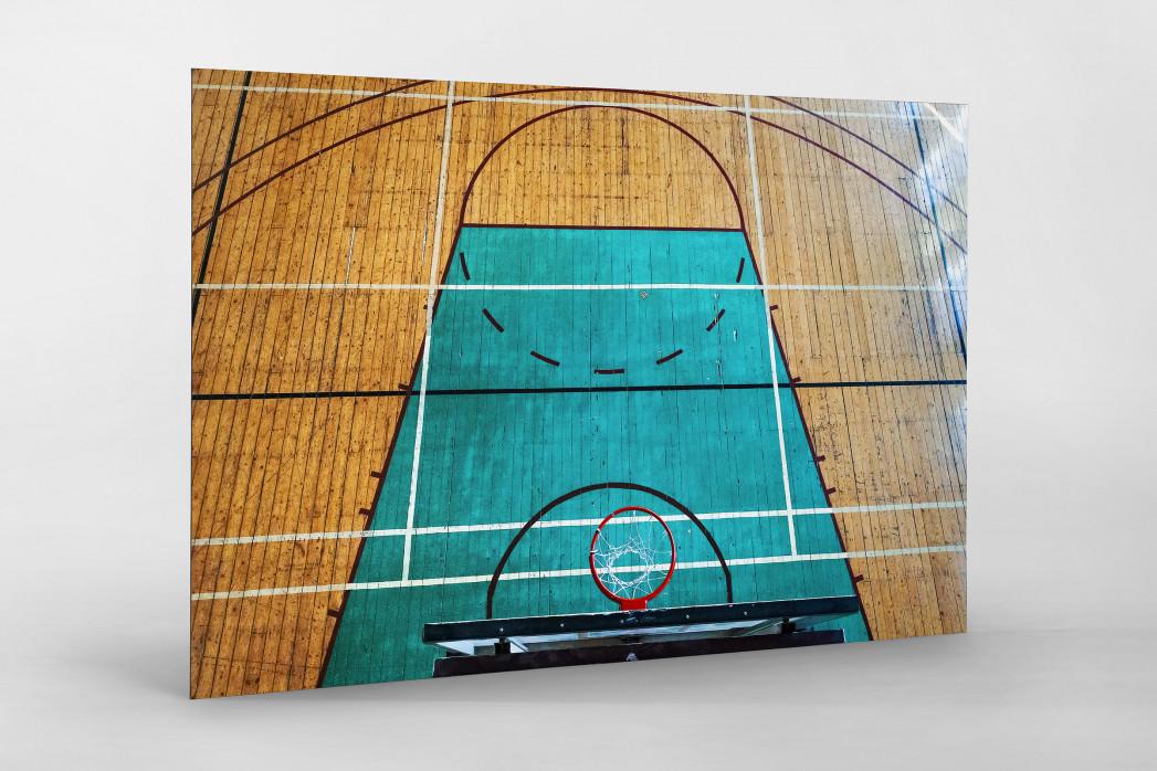 Basketballhalle in Estland als auf Alu-Dibond kaschierter Fotoabzug
