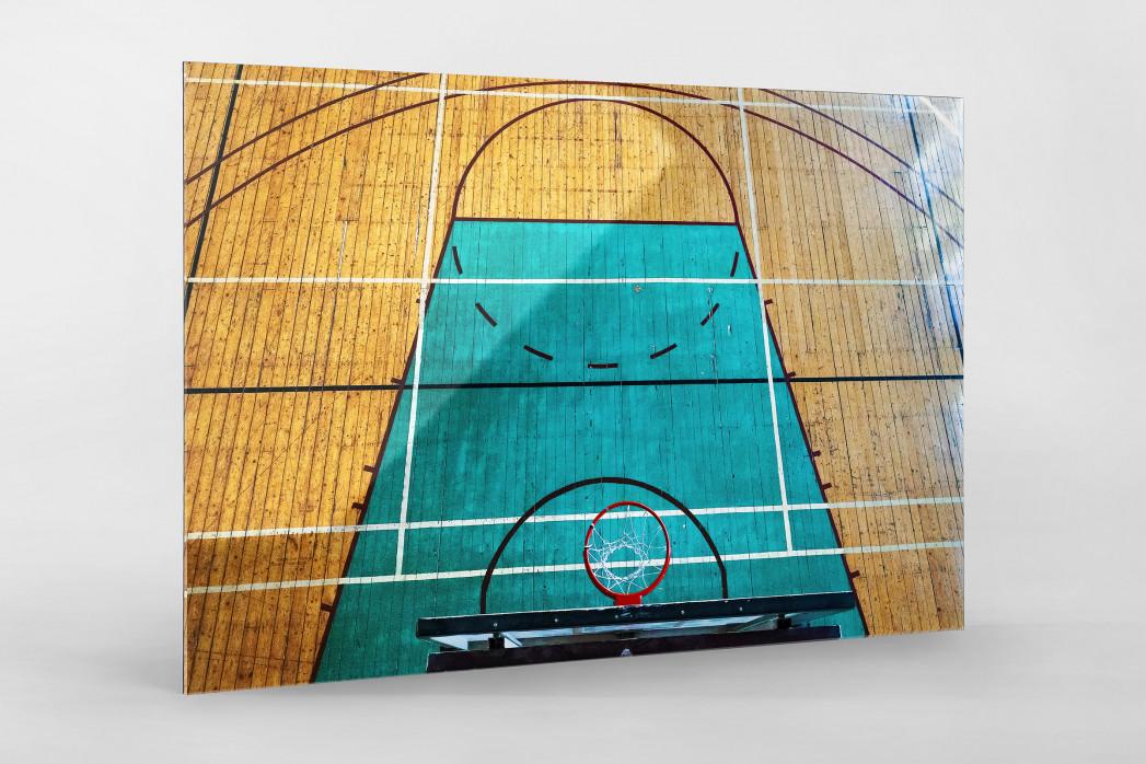 Basketballhalle in Estland als Direktdruck auf Alu-Dibond hinter Acrylglas