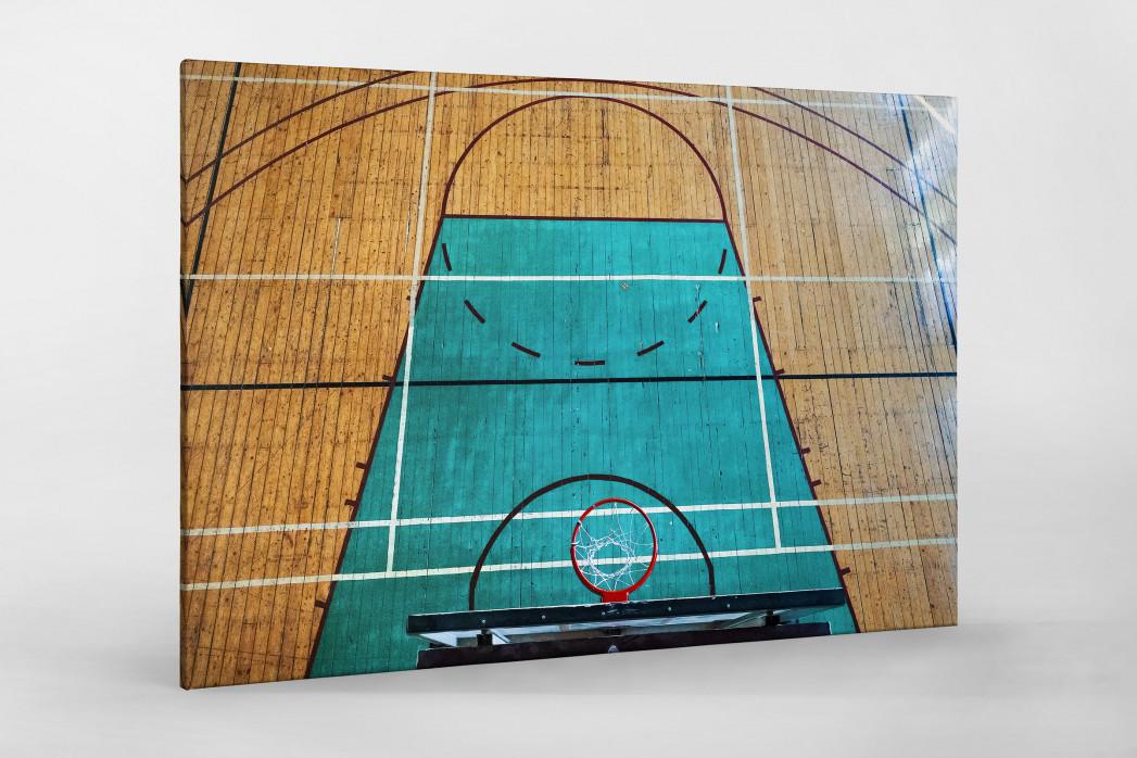 Basketballhalle in Estland als Leinwand auf Keilrahmen gezogen