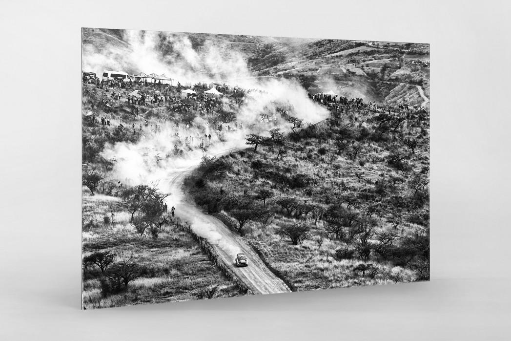 Rallye Mexico (3) als Direktdruck auf Alu-Dibond hinter Acrylglas