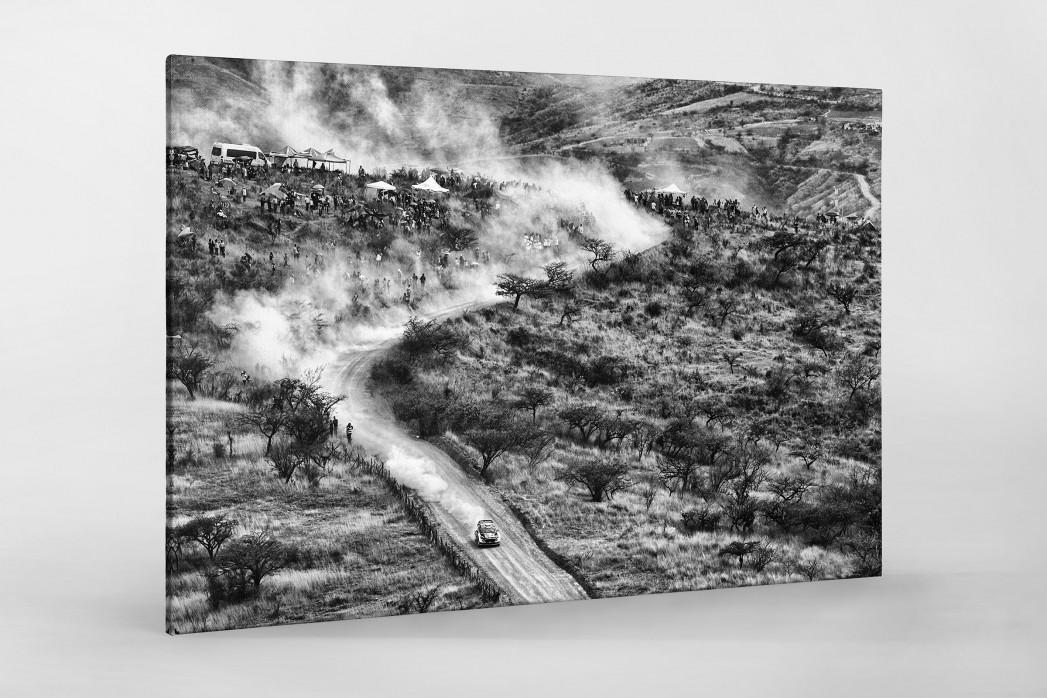 Rallye Mexico (3) als Leinwand auf Keilrahmen gezogen