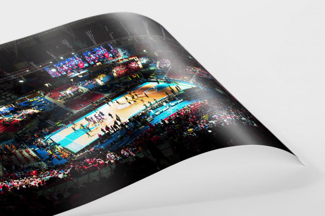 Basketball in Vitoria als FineArt-Print