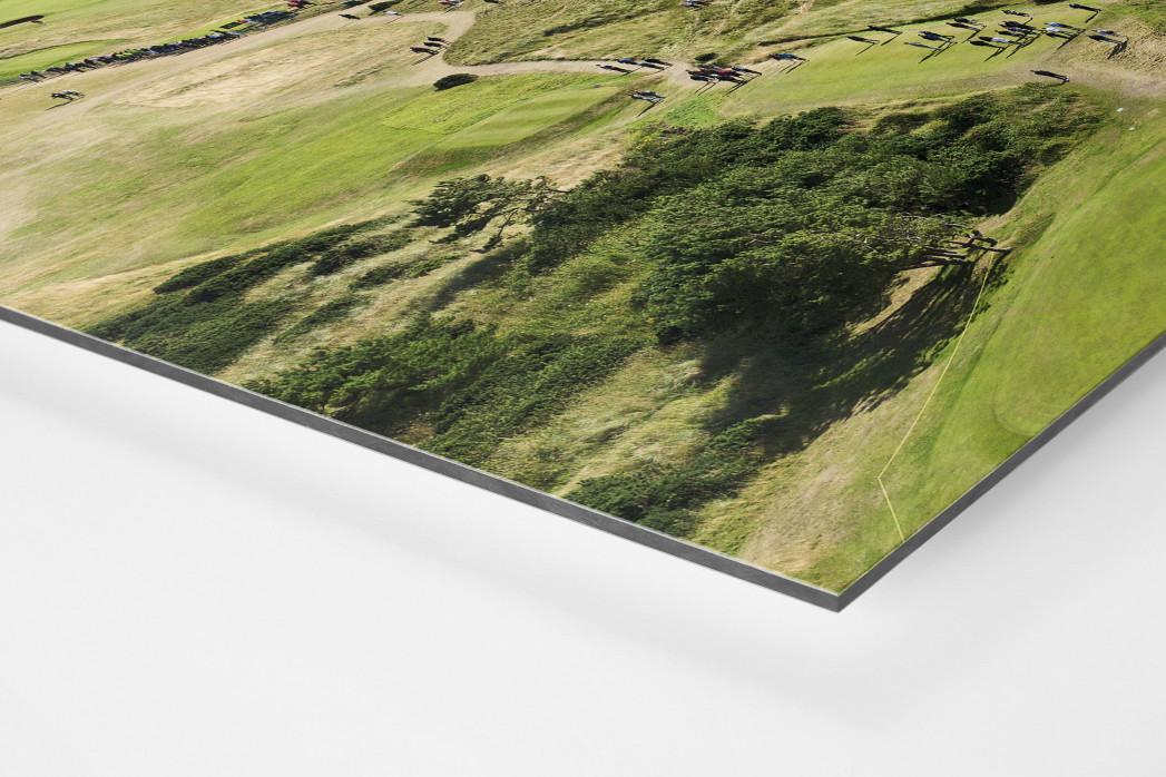Turnberry Golfresort als auf Alu-Dibond kaschierter Fotoabzug (Detail)