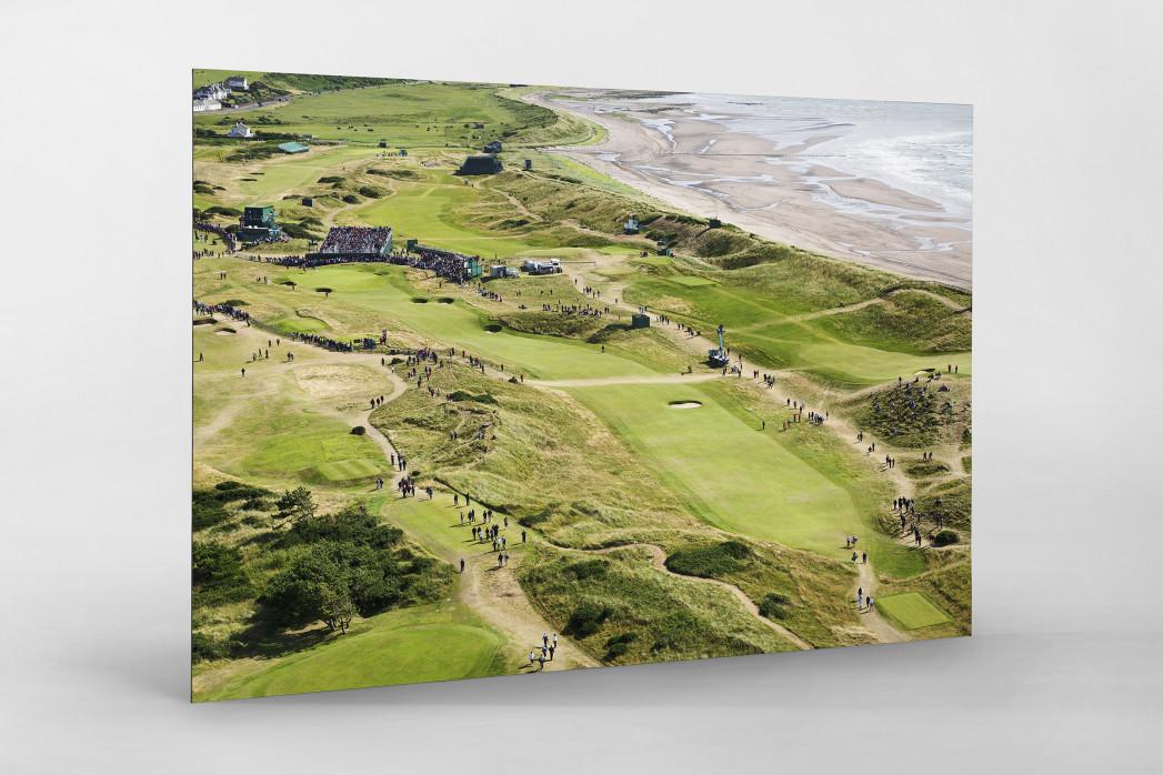 Turnberry Golfresort als auf Alu-Dibond kaschierter Fotoabzug