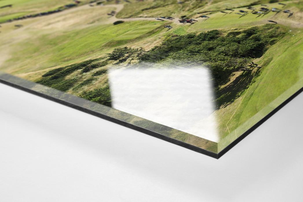 Turnberry Golfresort als Direktdruck auf Alu-Dibond hinter Acrylglas (Detail)