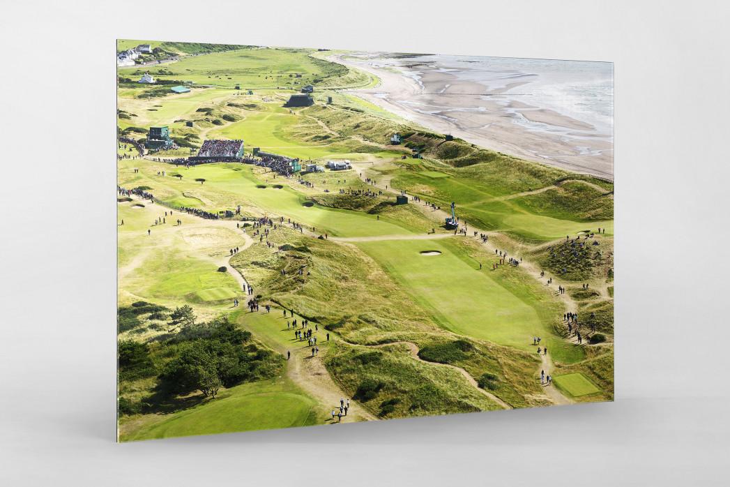 Turnberry Golfresort als Direktdruck auf Alu-Dibond hinter Acrylglas