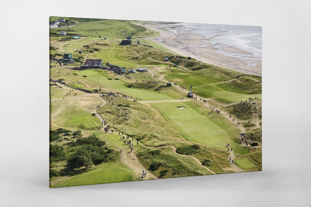 Turnberry Golfresort als Leinwand auf Keilrahmen gezogen