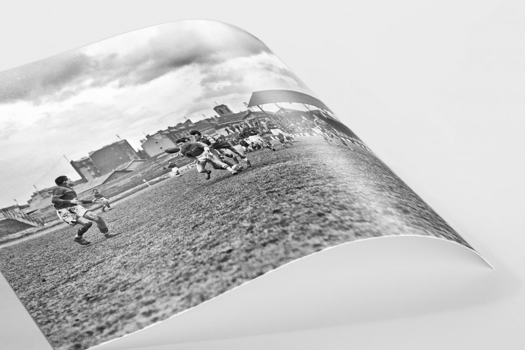 Rugby in Paris als FineArt-Print