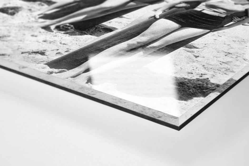 Long Boards in Long Beach als Direktdruck auf Alu-Dibond hinter Acrylglas (Detail)