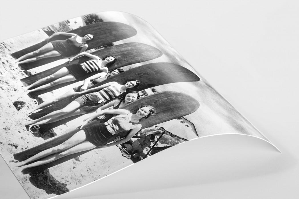 Long Boards in Long Beach als FineArt-Print