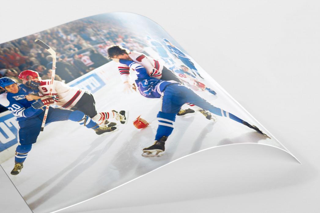 Kampf auf dem Eis als FineArt-Print