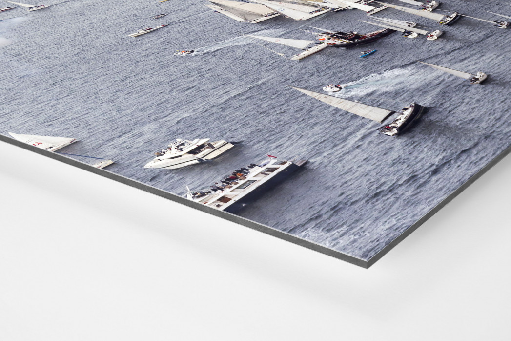Barcolana (2) als auf Alu-Dibond kaschierter Fotoabzug (Detail)