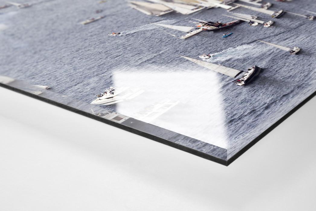 Barcolana (2) als Direktdruck auf Alu-Dibond hinter Acrylglas (Detail)